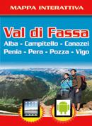 Mappa interattiva Val di Fassa
